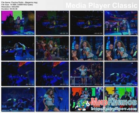 Paulina Rubio - Megamix (Live)