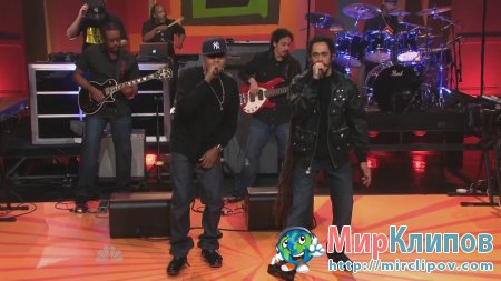 Nas Feat. Damian Marley - As We Enter (Live, Show With Jay Leno)