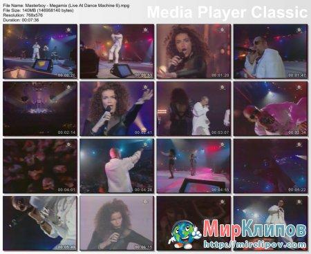 Masterboy - Megamix (Live, Dance Machine 6)