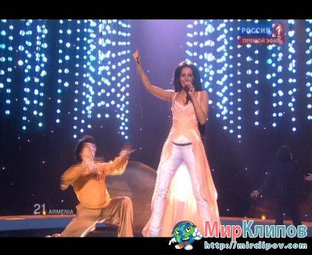 Eva Rivas (From Armenia) - Apricot Stone (Live, Eurovision, 29.05.2010)