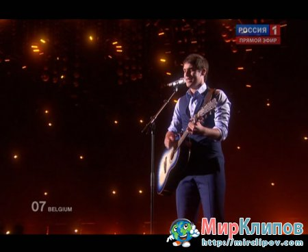 Tom Dice (From Belgium) - Me And My Guitar (Live, Eurovision, 29.05.2010)