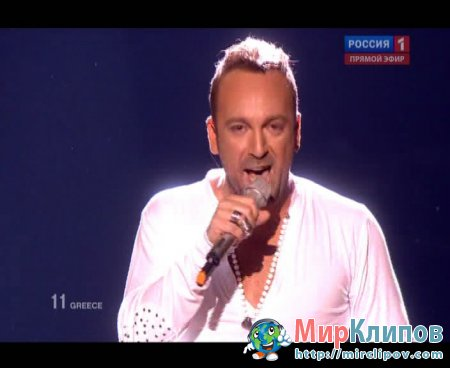 Giorgos Alkaios & Friends (From Greece) - OPA (Live, Eurovision, 29.05.2010)
