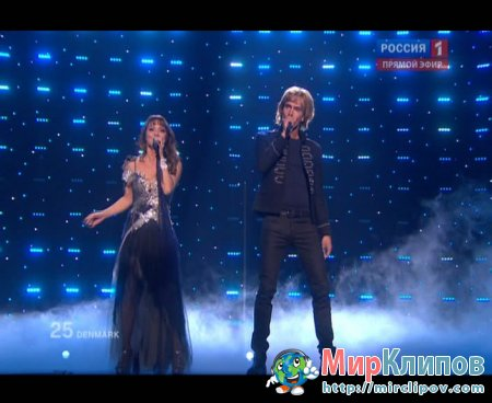 Chanee Feat. Nevergreen (From Denmark) - In A Moment Like This (Live, Eurovision, 29.05.2010)