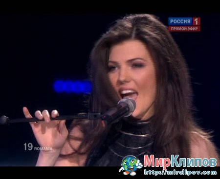 Paula Seling & Ovi (From Romania) - Playing With Fire (Live, Eurovision, 29.05.2010)