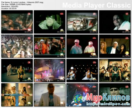 Dj Junior Londres - Videomix 2007