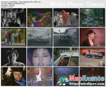 DJ Magrao - Videos Megamix 80's