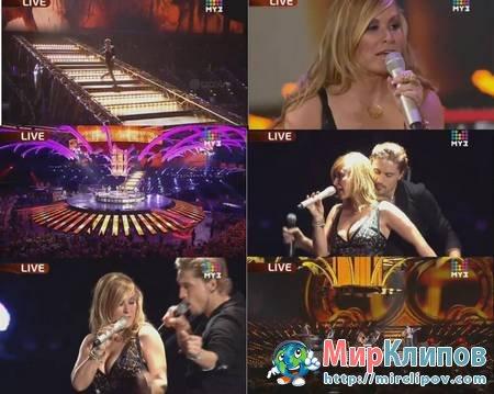 Anastacia Feat. Дима Билан - Safety (Live, Премия Муз-Тв, 2010)