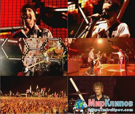 Muse Feat. The Edge - Where The Streets Have No Name (Live, Glastonbury, 2010)