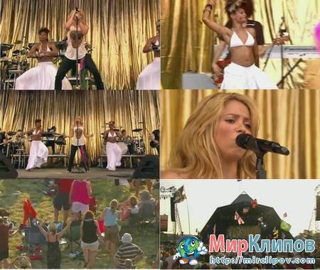 Shakira - Waka Waka (Live, Glastonbury, 2010)
