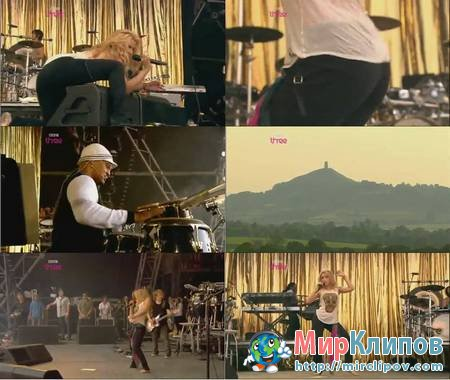 Shakira - She Wolf (Live, Glastonbury, 2010)