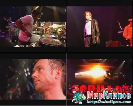 Gorillaz Feat. Mark E. Smith - Glitter Freeze (Live, Glastonbury, 2010)