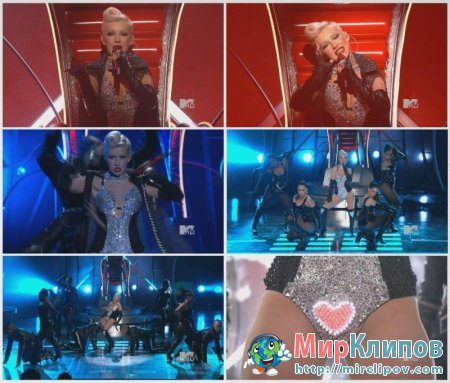 Christina Aguilera - Medley (Live, MTV Movie Awards, 2010)