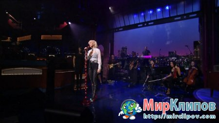 Christina Aguilera - You Lost Me (Live, Late Show With David Letterman)