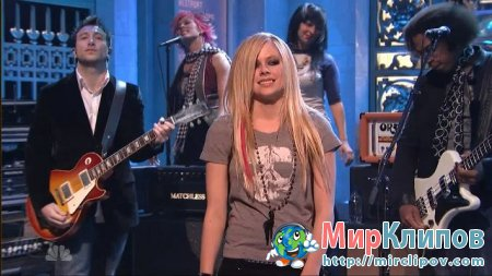 Avril Lavigne - I Can Do Better (Live, SNL, 2007)
