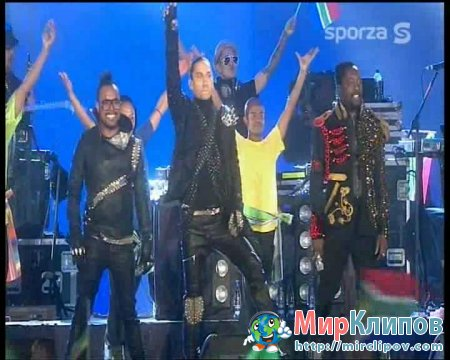 Black Eyed Peas - Medley (Live, Fifa Worldcup 2010 Concert)