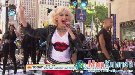 Christiana Aguilera - Bionic & Not Myself Tonight (Live, Today Show)