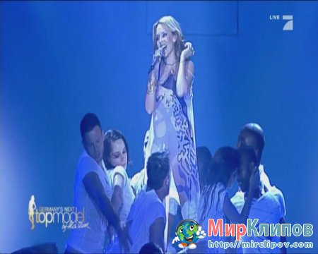 Kylie Minogue - All The Lovers (Live, Germanys Next Top Model, 10.06.10)