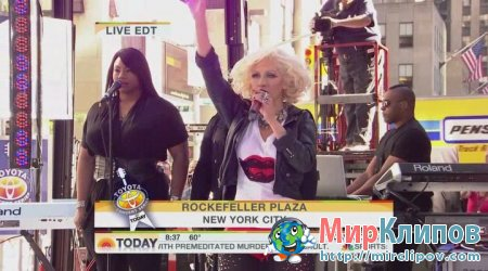 Christina Aguilera - Fighter (Live, Today Show)