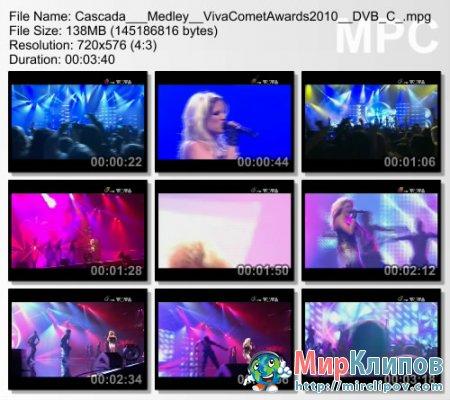 Cascada - Medley (Live, Viva Comet Awards, 2010)