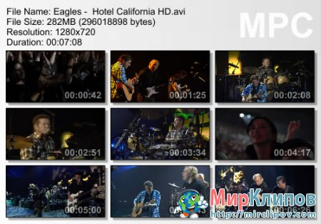 Eagles -  Hotel California (Live)