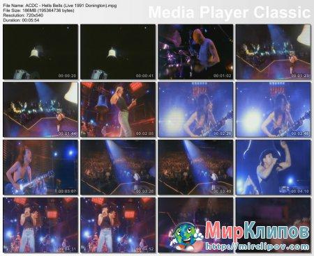 AC/DC -  Hells Bells (Live, 1991)