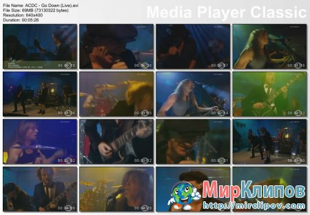 AC/DC - Go Down (Live)