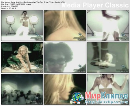 Sugar Feat. Lizzy Pattinson - Let The Sun Shine (Video Remix)