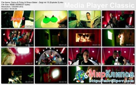Darius & Finlay Feat. Shaun Baker - Zeigt Mir 10 (Explode 3)