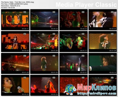 Kelis - Trick Me (Live, 2005)