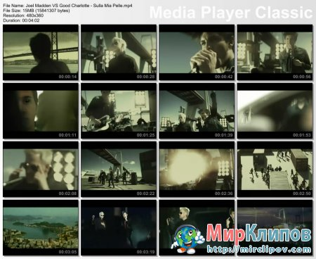 Joel Madden Vs. Good Charlotte - Sulla Mia Pelle