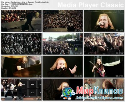 Candlemass - Live Perfomance (Sweden Rock Festival)