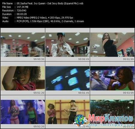 Sasha Feat. Ivy Queen - Dat Sexy Body