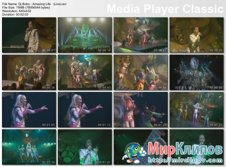 Dj Bobo - Amazing Life (Live)