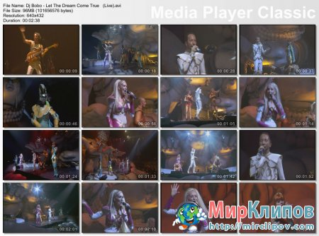 Dj Bobo - Let The Dream Come True (Live)