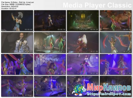 Dj Bobo - Roll Up (Live)