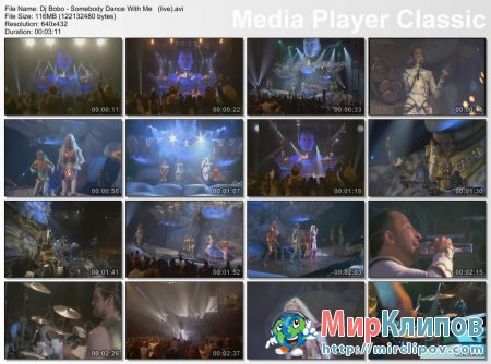 Dj Bobo - Somebody Dance With Me (Live)