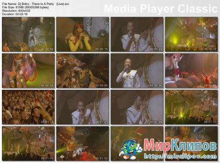 Dj Bobo - There Is A Party (Live)