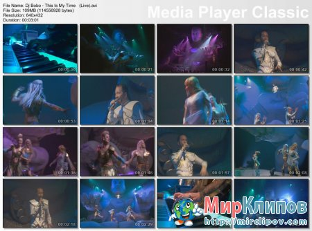 Dj Bobo - This Is My Time (Live)