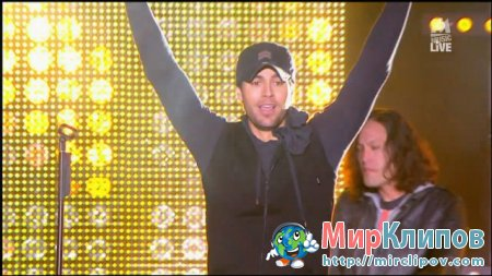 Enrique Iglesias - I Like It (Live, M6 Music)