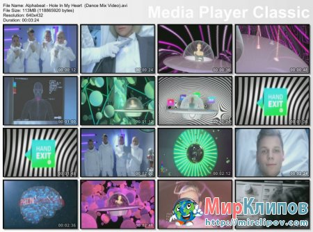 Alphabeat - Hole In My Heart (Dance Mix Video)