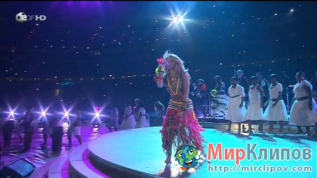 Shakira - Waka Waka (Live, World Cup Closing Ceremony)
