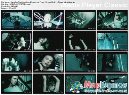 Sash Feat. Tina Cousins - Mysterious Times (Original Edit) (Dance Mix Video)