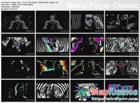 Steve Aoki - I'm In The House (Dance Mix Video)