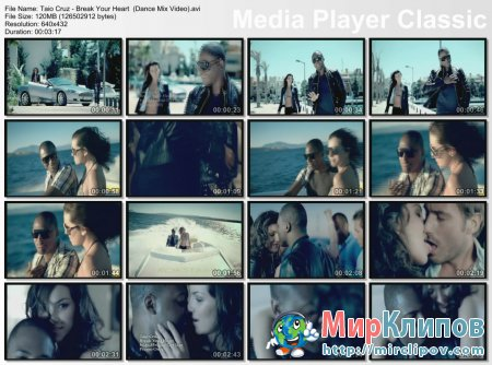 Taio Cruz - Break Your Heart (Dance Mix Video)
