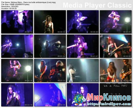 Melissa Mars - Dans Ma Bulle Antisismique (Live)
