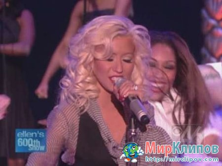 Christina Aguilera - Makes Me Wanna Pray (Live, Ellen Show)