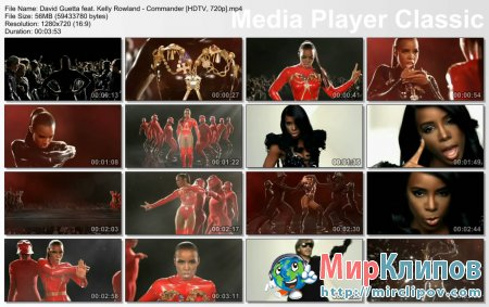 David Guetta Feat. Kelly Rowland - Commander