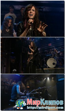 Halestorm - Familiar Taste Of Poison (Live, Jimmy Fallon)