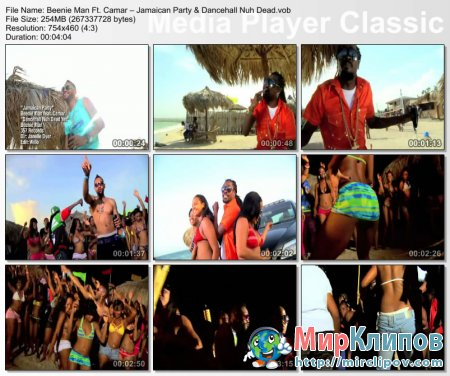 Beenie Man Feat. Camar – Jamaican Party & Dancehall Nuh Dead