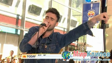 Maroon 5 - Misery (Live, Today Show)